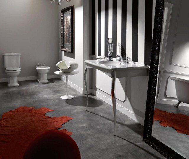 Salle de bain rétro - 28 idées uniques d\'aménagement et déco