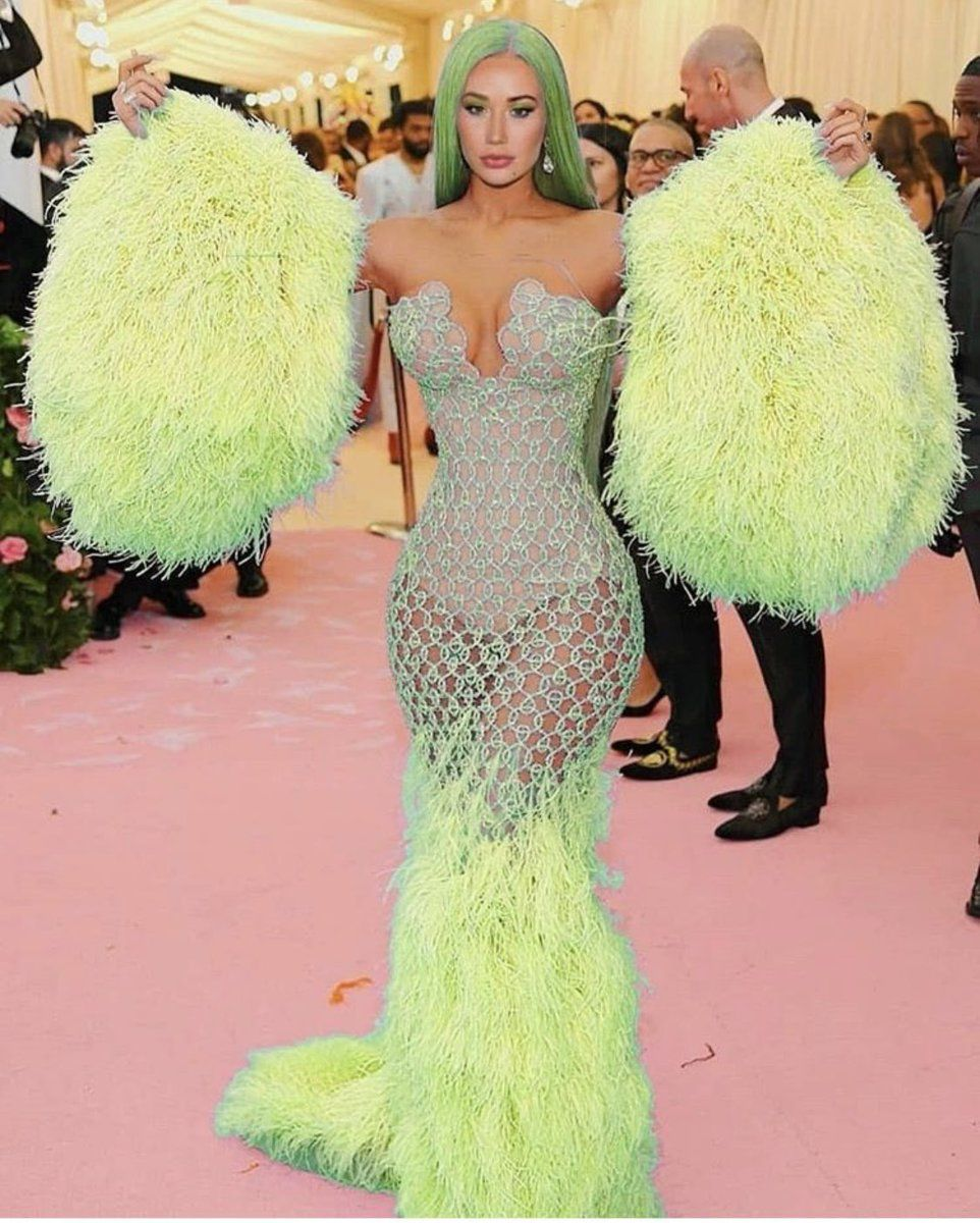 Iggy Azalea Met Gala Dress Met Gala Dresses Gala Dresses Strapless Dress Formal