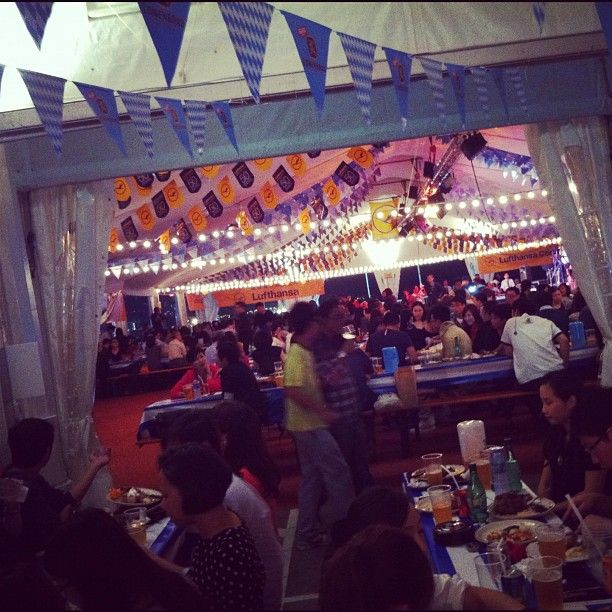 Marco Polo German Bierfest starts tonight! Whoever is going tonight! Have mad fun!