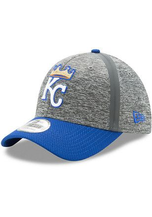 2c98c87f New Era KC Royals Grey Jr 2017 Clubhouse 39THIRTY Youth Flex Hat ...