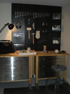 Ikea Cabinets Workshop Yes Please My House Garage