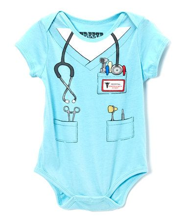 Take a look at this Light Blue Doctor Dress-Up Bodysuit by Freeze on #zulily today!