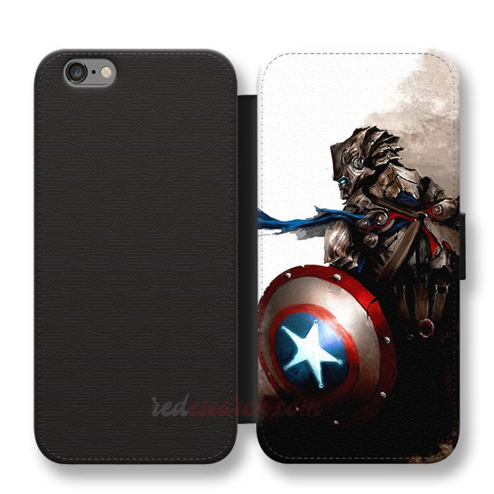 Good The Winter Soldier Captain America Symbol Wallet Cases Get It