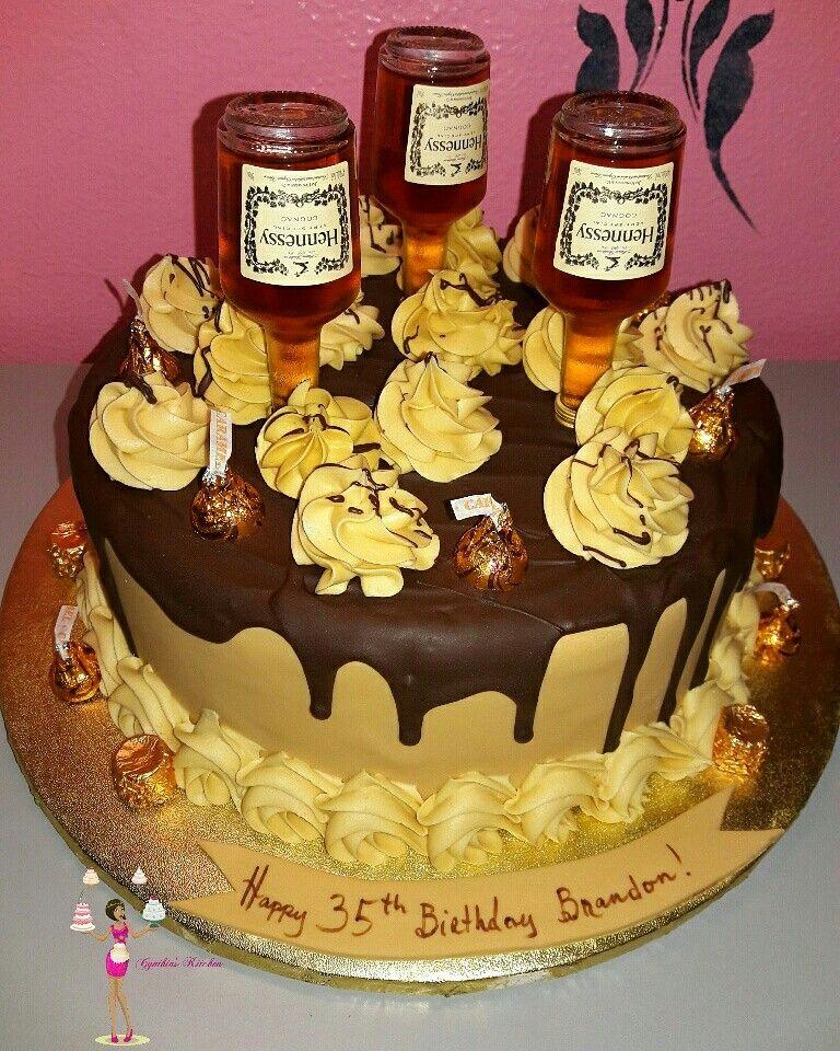 Hennessy cake | birthday /themed cakes in 2019 | Birthday cake ...