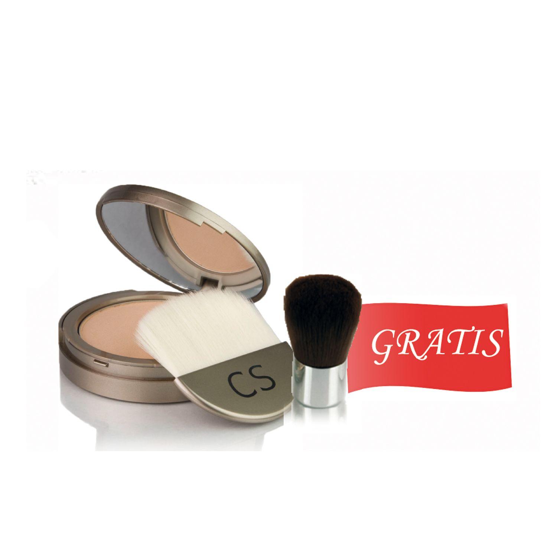 Więcej Colorescience na święta!  Przy zakupie dowolnego pudru prasowanego, pędzel mini kabuki GRATIS  dermstore.pl