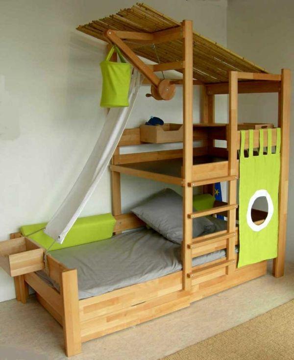 Le plus beau lit cabane pour votre enfant !   Lit moderne, Beaux ...