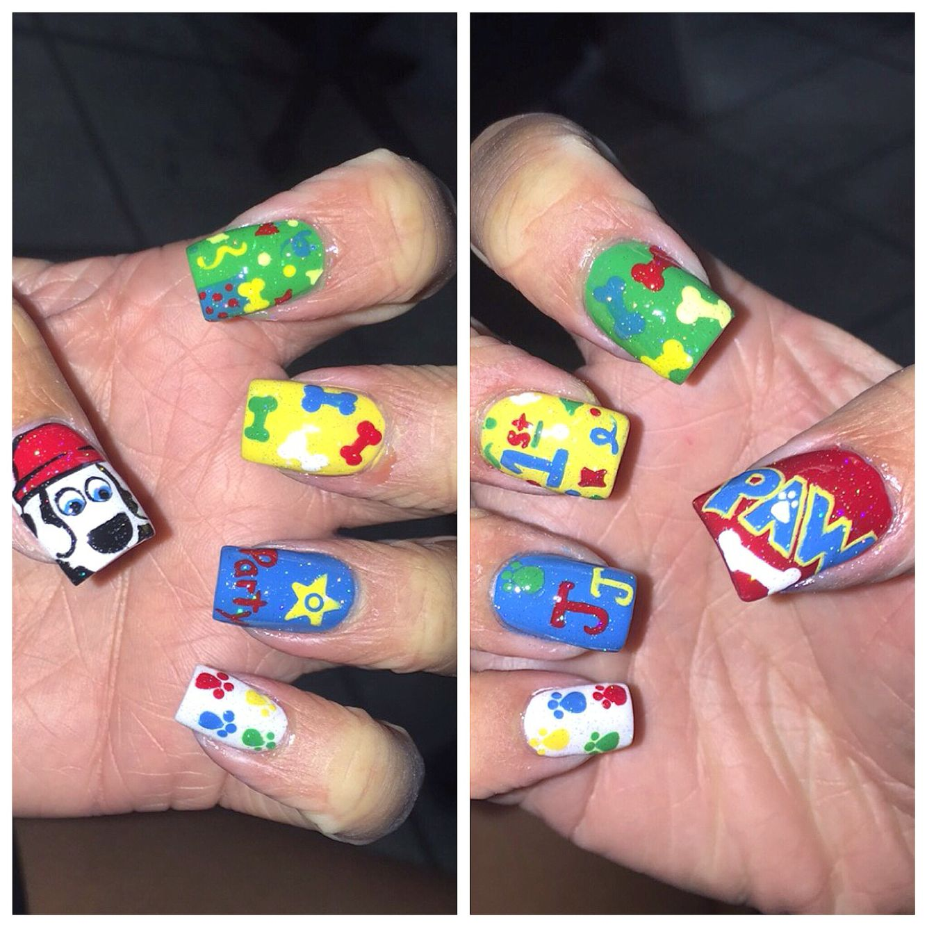 Paw Patrol Nail Polish Videos