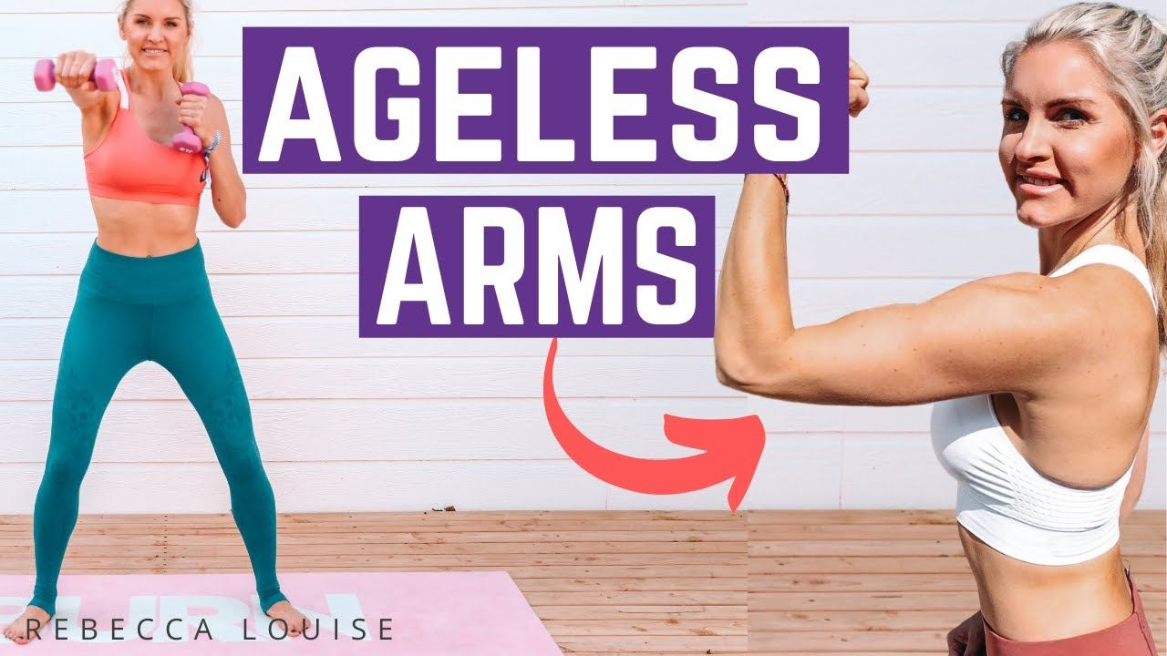 10 MIN AGELESS ARMS WORKOUT - Get TONED!  | Rebecca Louise