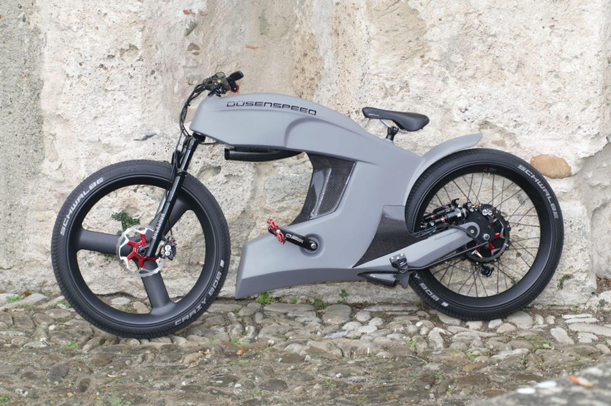 Dusenspeed Delivers Motorbike Performance In Retro Inspired E Bike