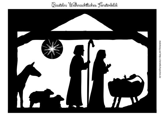 fensterbild weihnachten basteln  fensterbilder