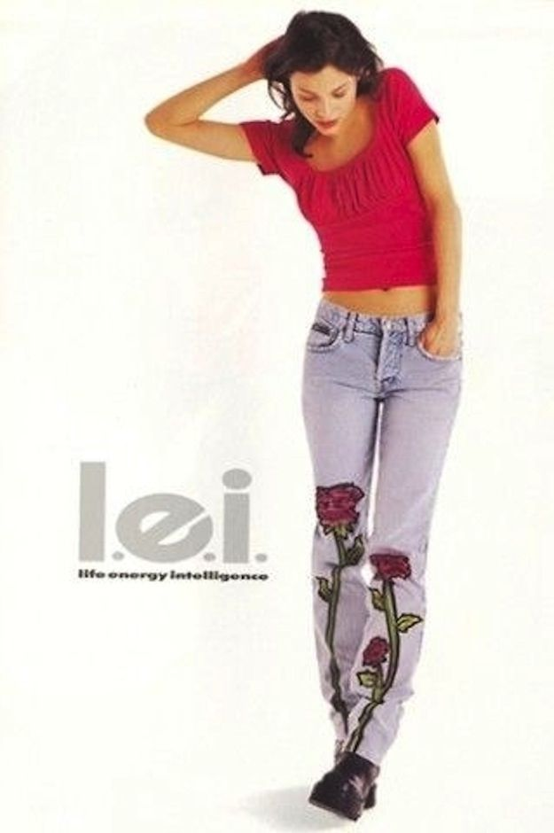 What does the initials LEI stand in the LEI Jeans?