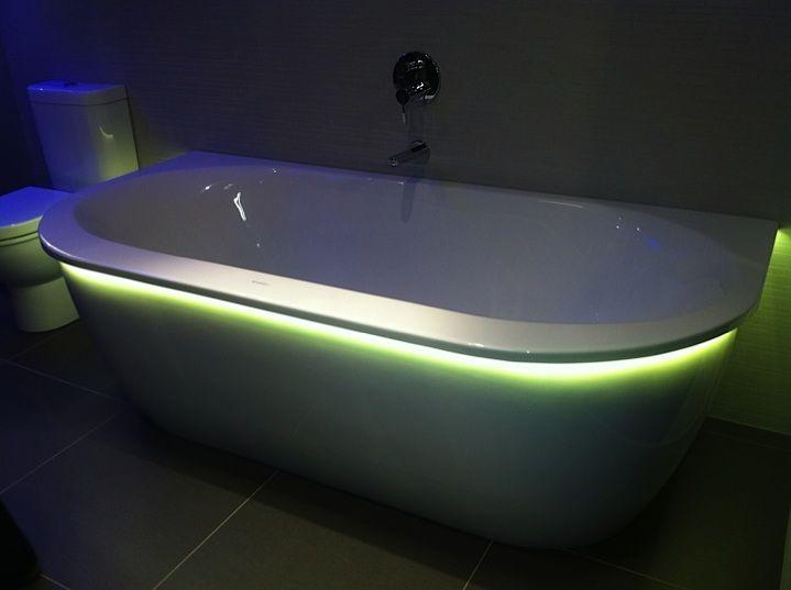 Duravit Badezimmer ~ Half vrijstaand bad van duravit darling new vrijstaande baden