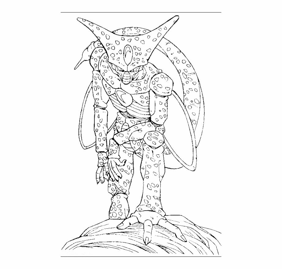 Google Image Result For Https Www Vippng Com Png Detail 372 3726043 Free Coloring Pages For Dragon Ball Z With Dragon Ball Free Coloring Pages Dragon Ball Z