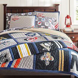 NHL™ Bedding, Ice Hockey Bedding U0026 Hockey Bed Sheets | PBteen