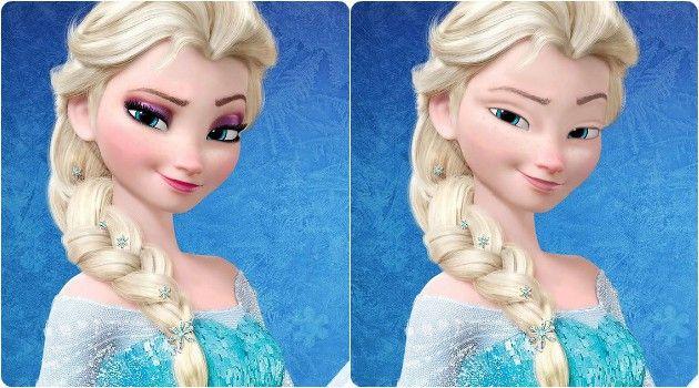 Como ficariam as princesas da Disney sem maquiagem? Ilustradora mostra