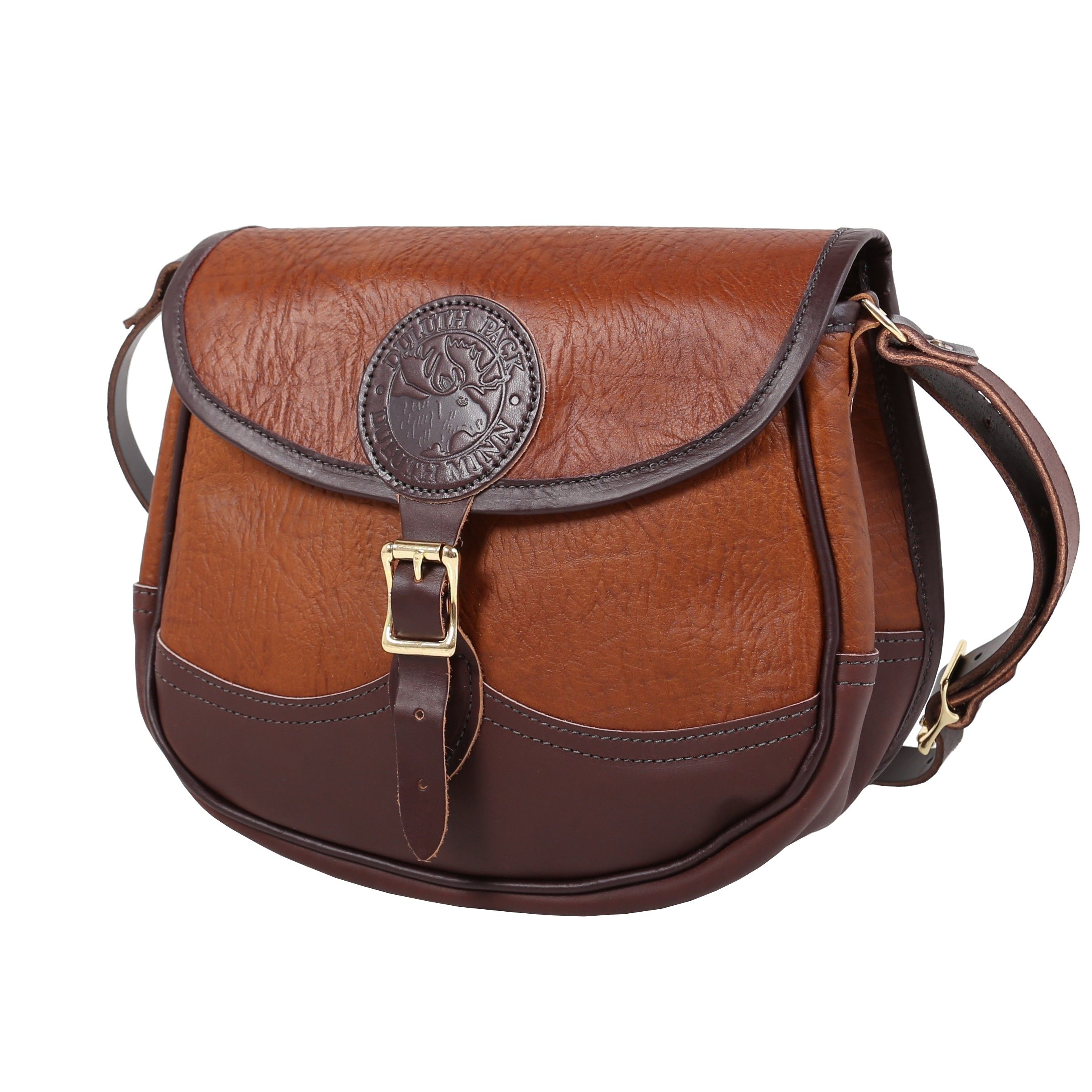 Bison Leather Conceal & Carry Shell Purse Handbag.  Made in USA 🇺🇸 Guaranteed For Life. Duluth Pack #2A #girlsandguns