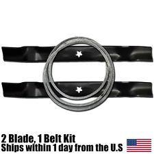 Craftsman Lt1000 42 Deck Blade Kevlar Belt Combo 138971 144959 Belt Craftsman Blade