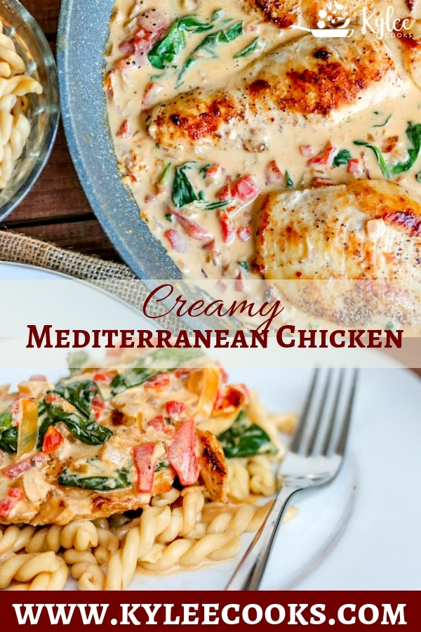 Photo of Creamy Mediterranean Chicken Dinner(in a Skillet)