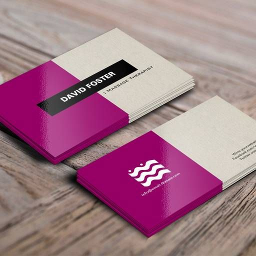 Massage therapist simple elegant stylish business card template massage therapist simple elegant stylish business card template custom business card templates pinterest business cards card templates and business friedricerecipe Choice Image