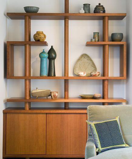 Pingl par c lh sur deco pinterest salle deco et rangement - Idees decors du milieu du siecle salon ...