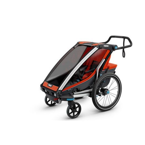 Thule Chariot Cross 2 Stroller And Trailer Baby Camping Gear Camping With A Baby Kayaking