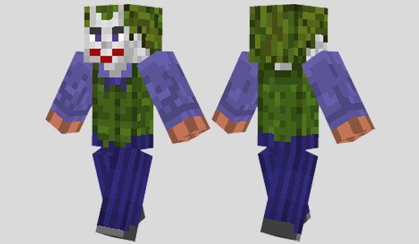 Joker Skin Para Minecraft Minecraft Skins Pinterest Joker And - Skins para minecraft pe joker