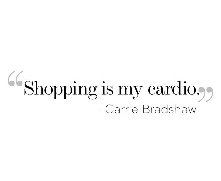 A Carrie Bradshaw Quote