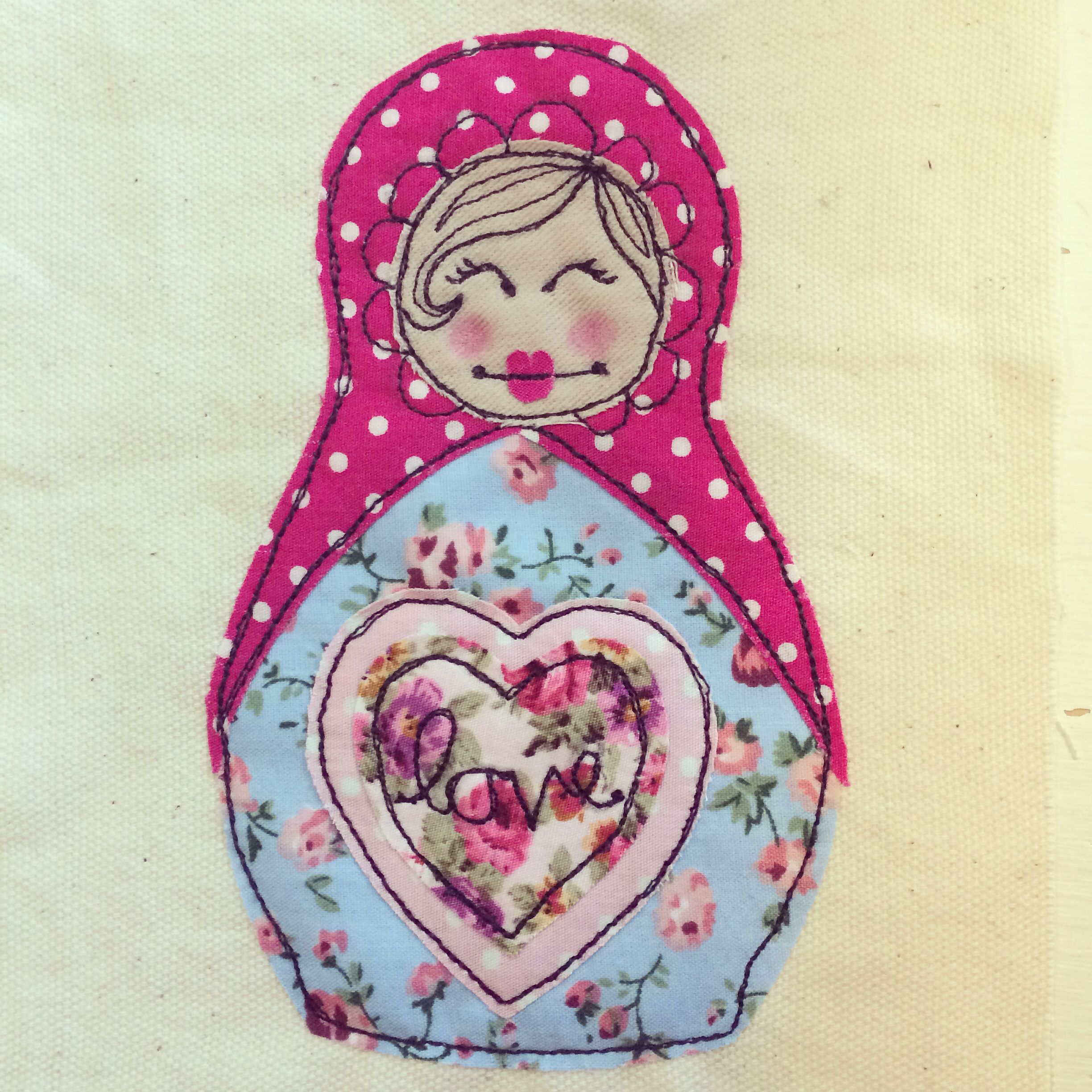 Free motion Russian doll