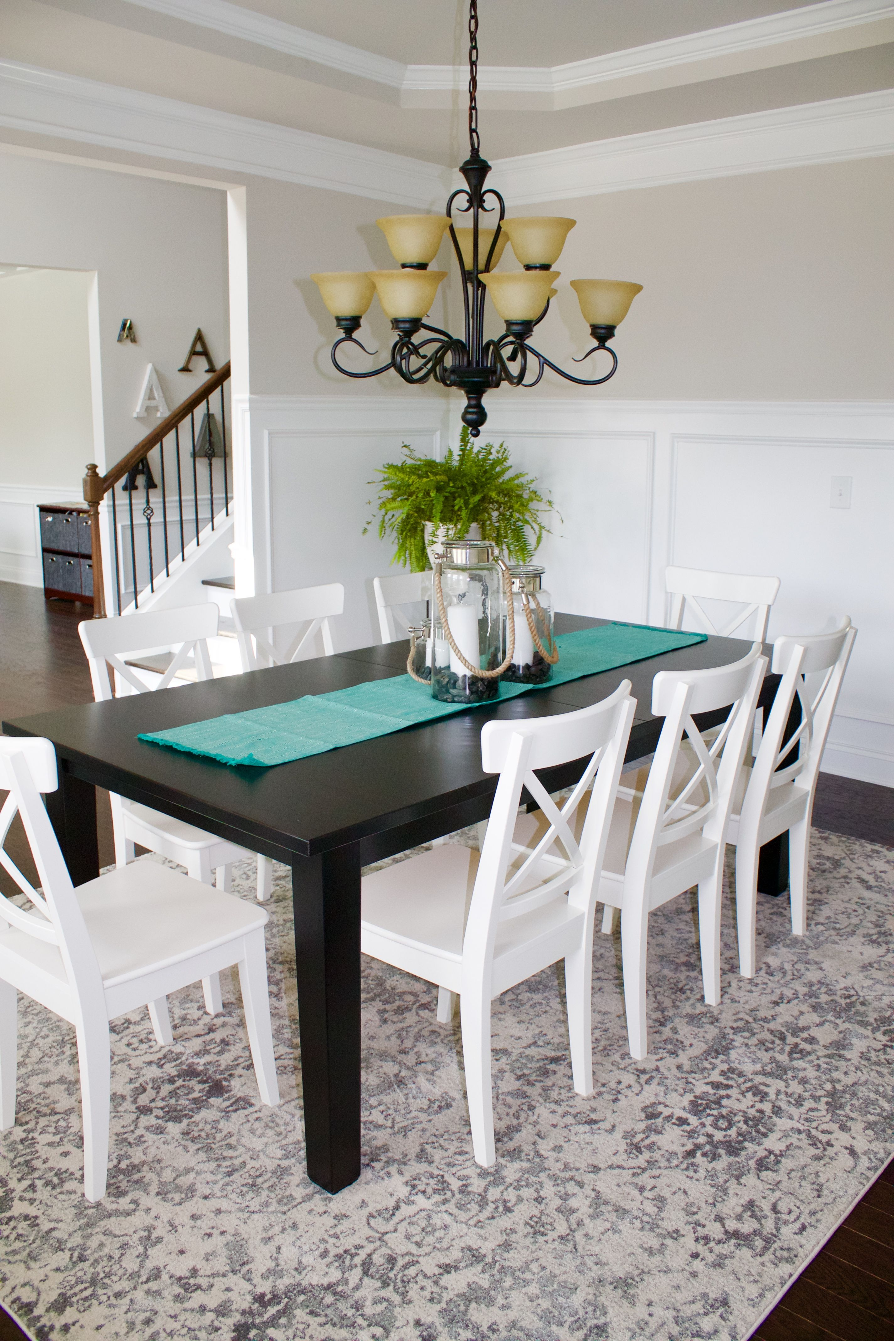 Dining Room Reveal Ikea Dining Furniture In A Traditional Room