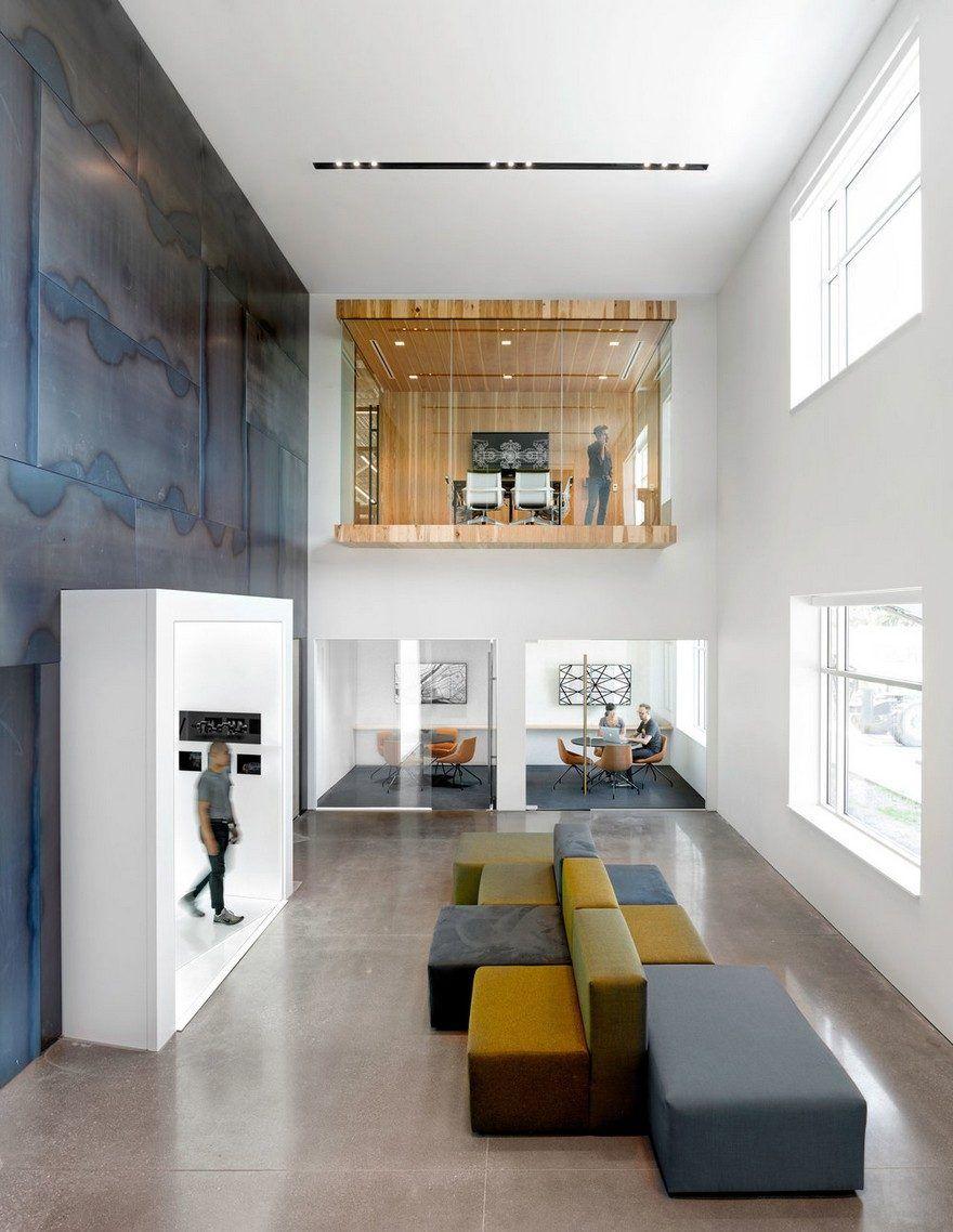 uber office design studio. Uber Advanced Technologies Group Center / Assembly Design Studio Office