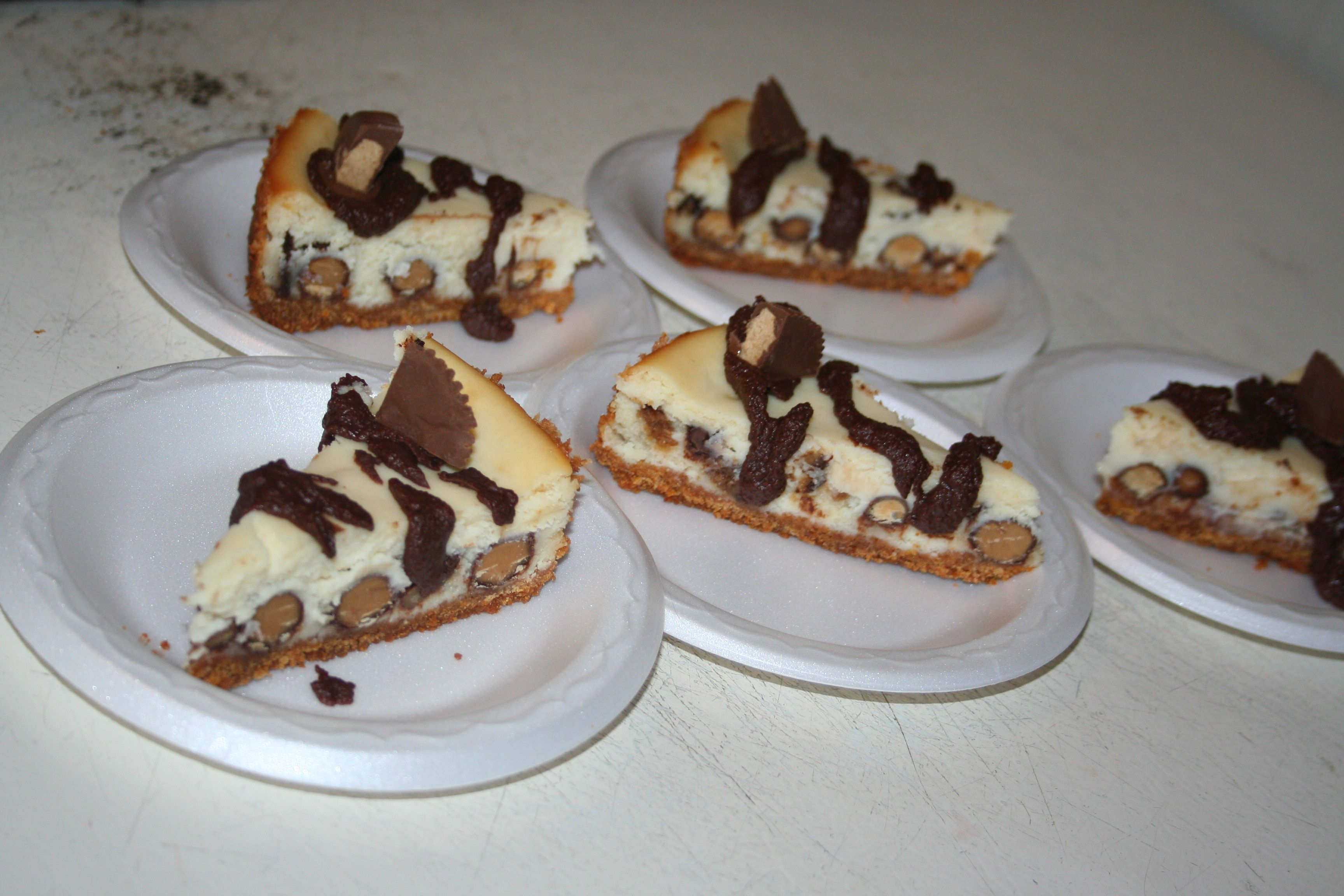 Reese Peanut Butter Cup Cheesecake