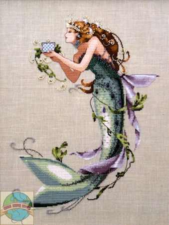 Mirabilia - The Queen Mermaid - Cross Stitch World | bordado ...