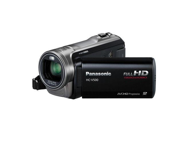 panasonic v500 full hd camcorder black at cheap prices pcworld rh pinterest com