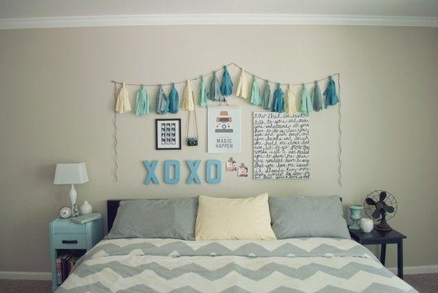 Bedroom Wall Decoration   DIY Wall Art U2013 16 Innovative Wall Decorations