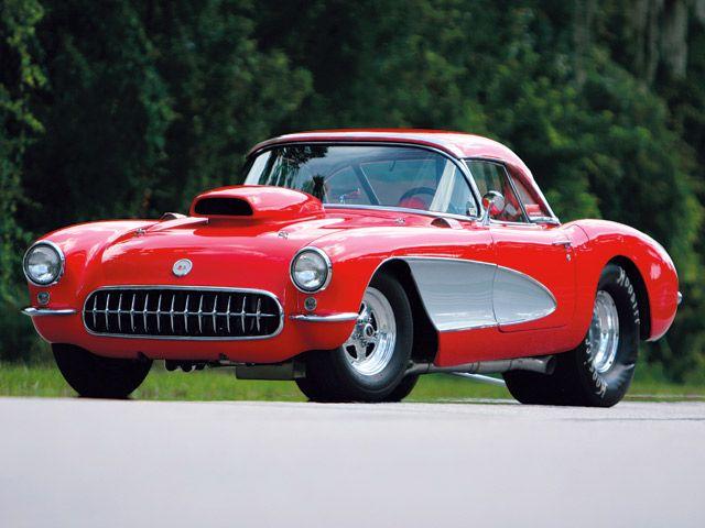 1956 Corvette Drag Car 8 Second C1 Vette Magazine Drag Cars Corvette Used Luxury Cars