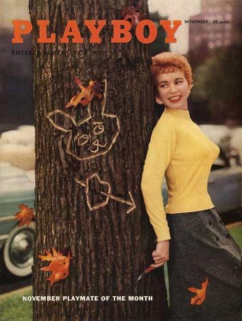 Playboy magazine cover November 1955