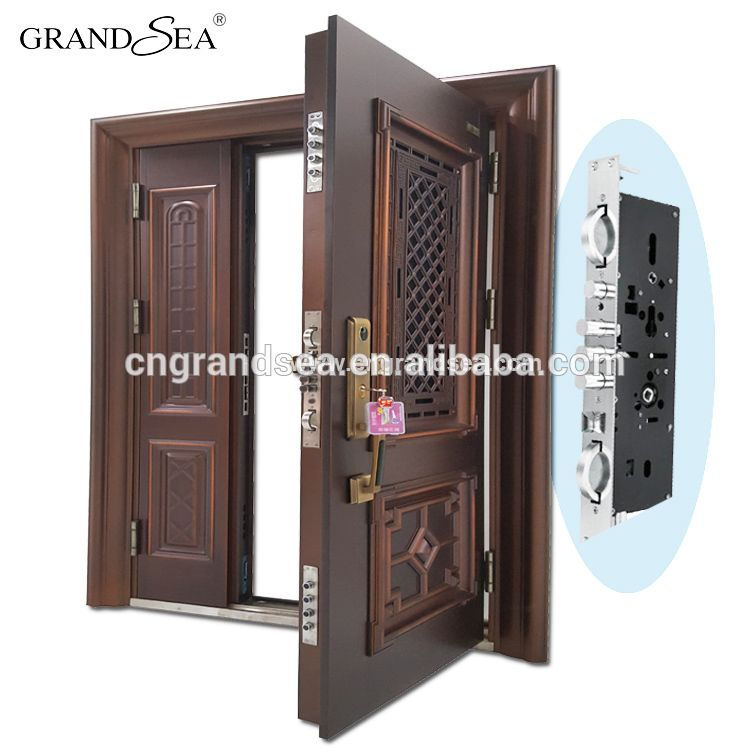 Luxury Design High Quality Low Price Single Double Exterior Security