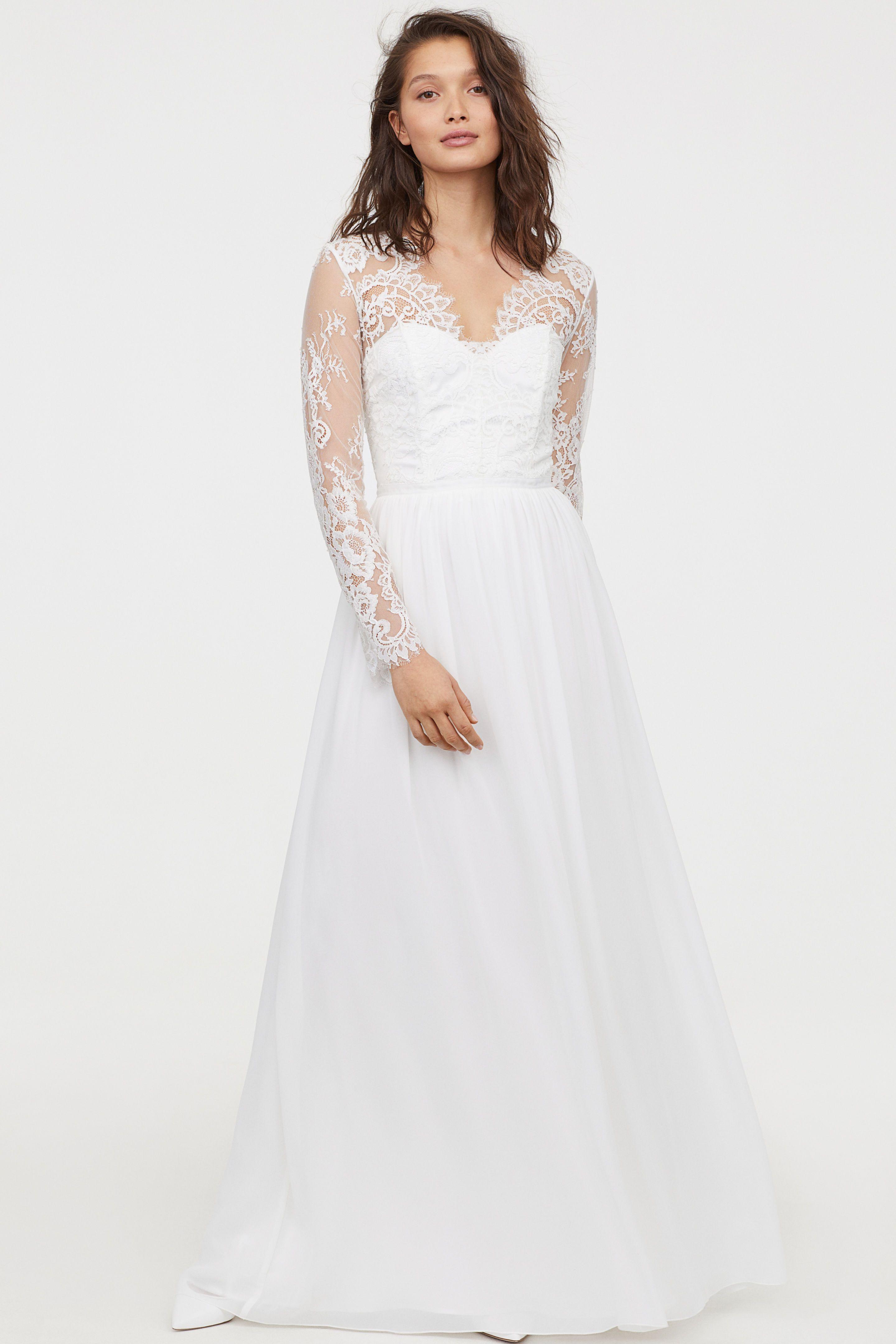 H M Just Restocked Its Kate Middleton Wedding Dress Dupe 19 More Bridal Looks Kate Middleton Wedding Dress Wedding Dresses Uk Cheap Wedding Dress