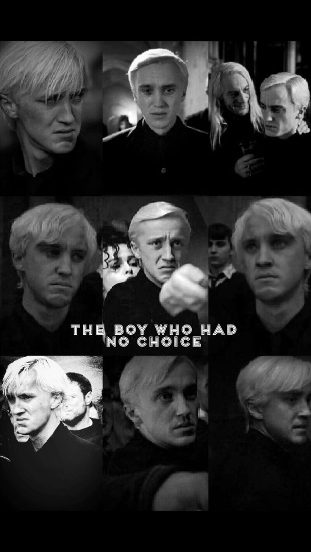 Draco The Boy Who Had No Choice Pic Collage Jellylovesbean Draco Malfoy Harry Potter Jokes Malfoy