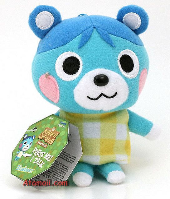 Bluebear Animal Crossing Plush I Neeeeeeds It Animal Crossing
