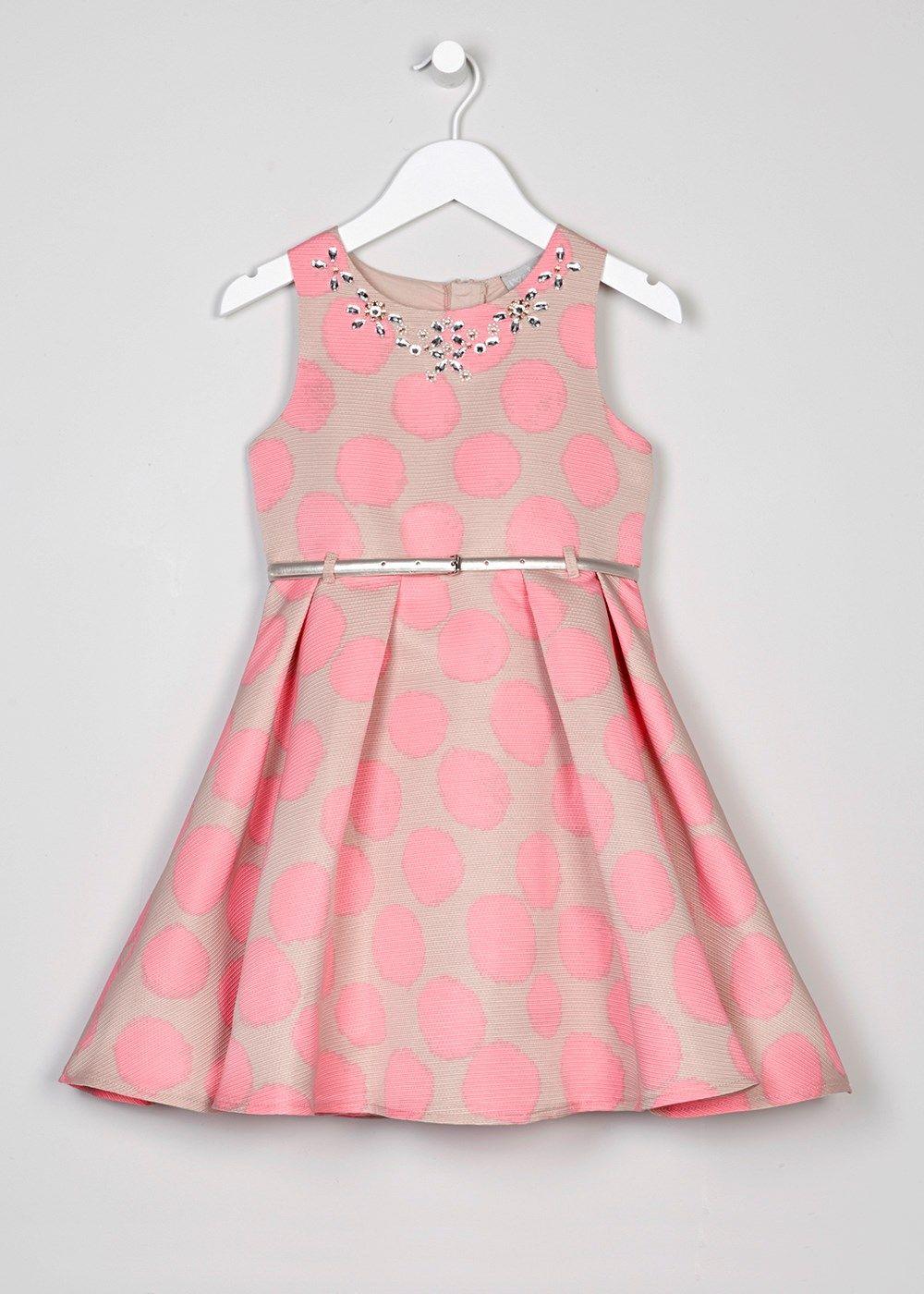 Girls Spot Belted Dress (3-13yrs) | Didi\'s Corner | Pinterest