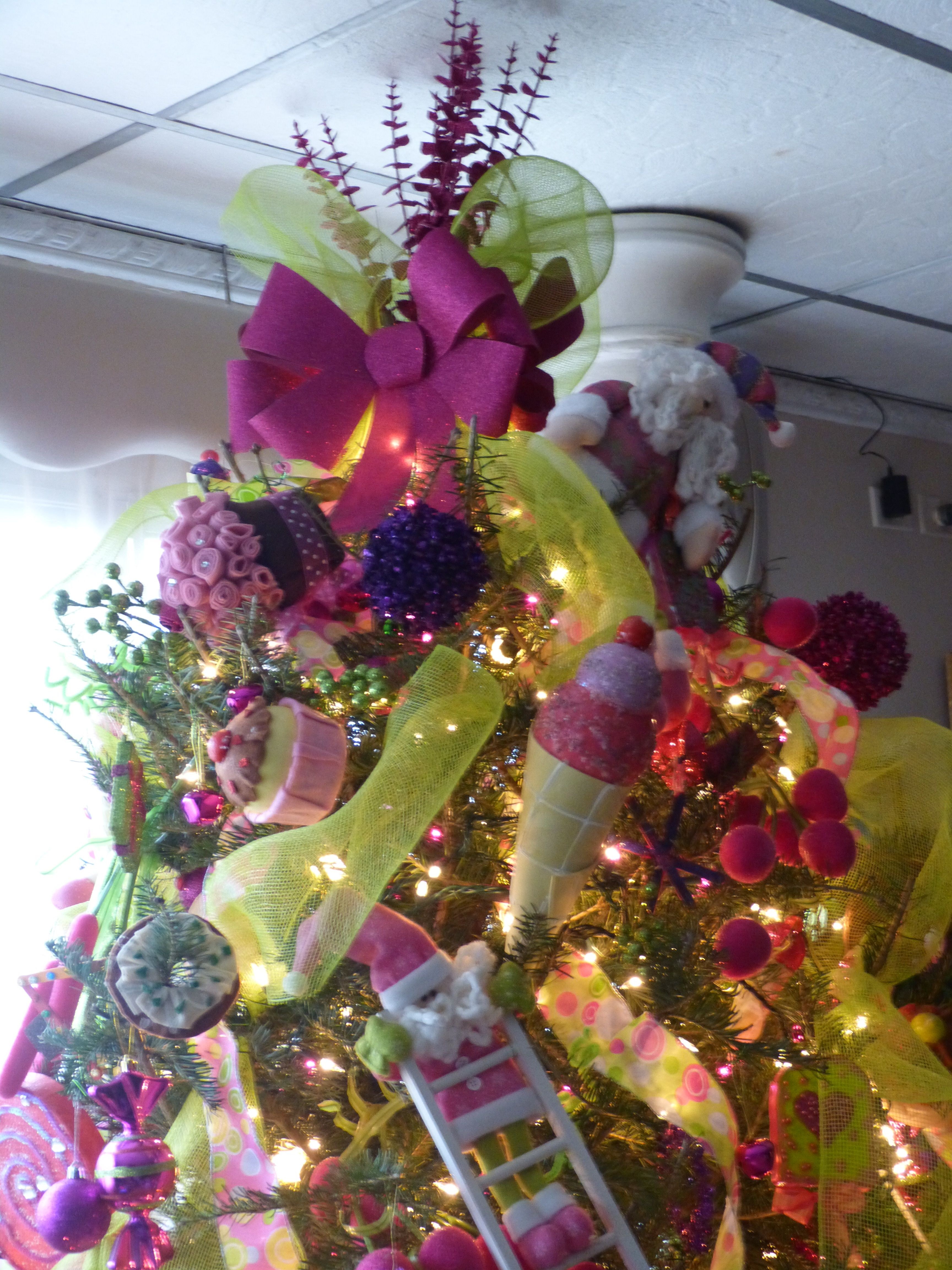 Arbol de navidad de dulces navidad deco navidad y - Decoracion arboles navidenos ...