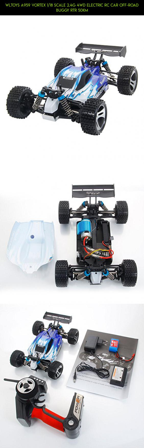 Wltoys A959 Vortex 1 18 Scale 2 4g 4wd Electric Rc Car Off Road