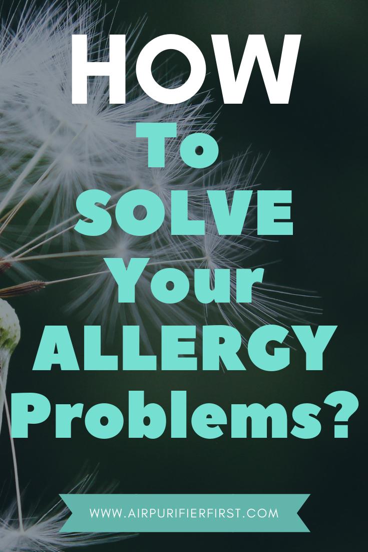 For Allergies [2020] Air purifier allergies, Allergies