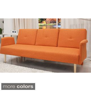 Shop for Contemporary Home Design Fabric Midcentury Sofa Bed with