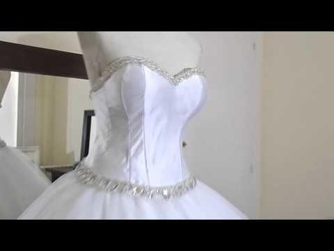 Como Hacer Un Vestido De Quinceañera Youtube Como Hacer