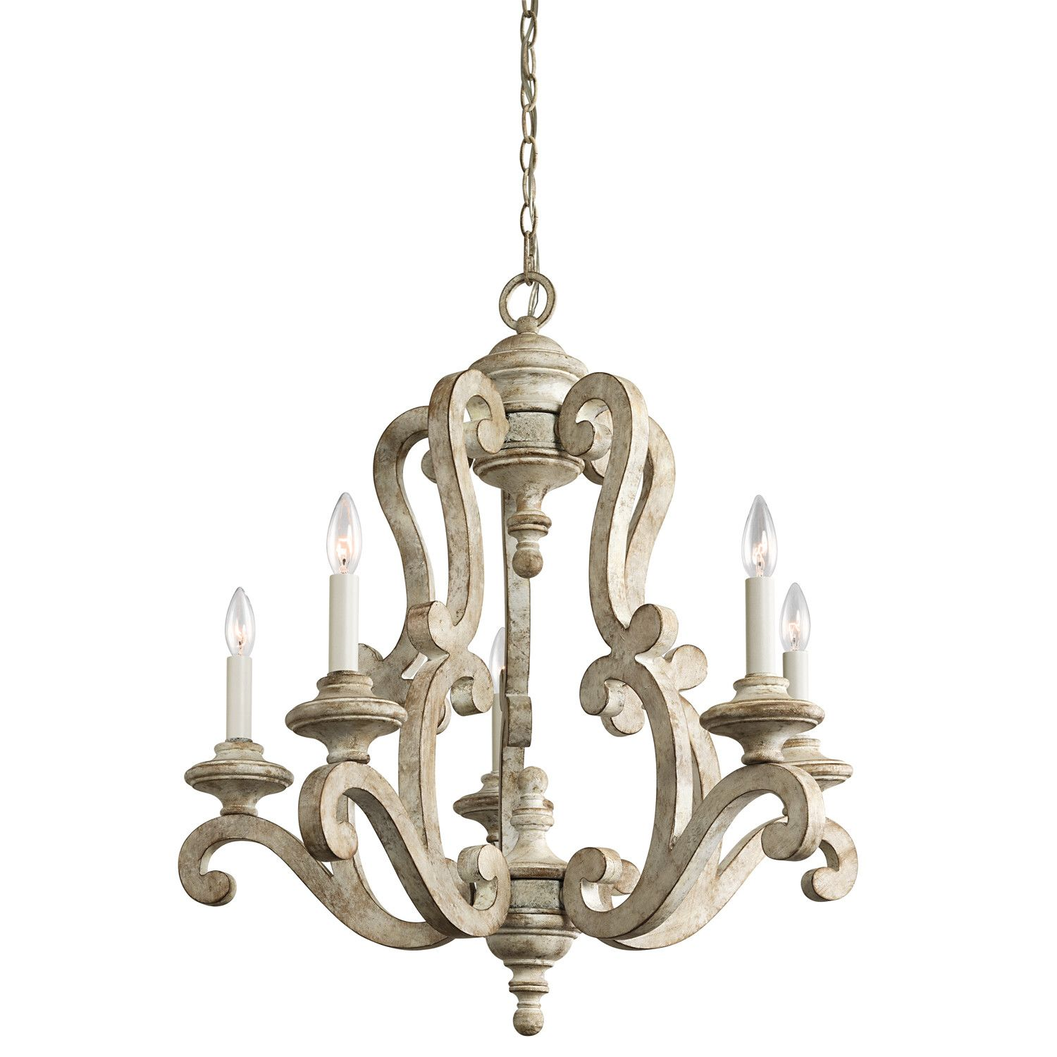 Birch Lane™ Knudtson 5 Light Candle Style Chandelier