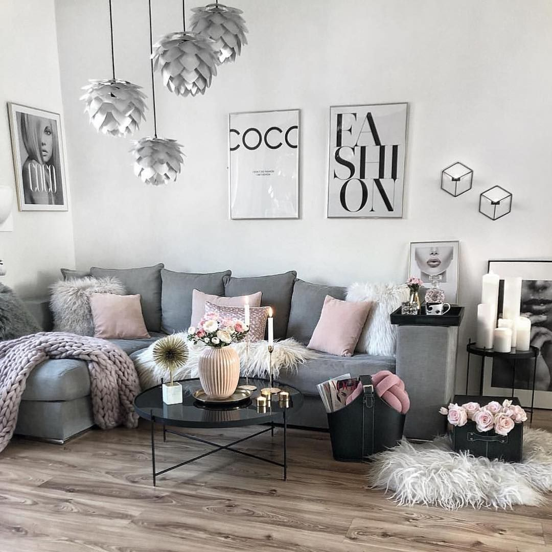 Deco Petit Salon Appartement living room inspo ✨ one of my favs! ? the home of