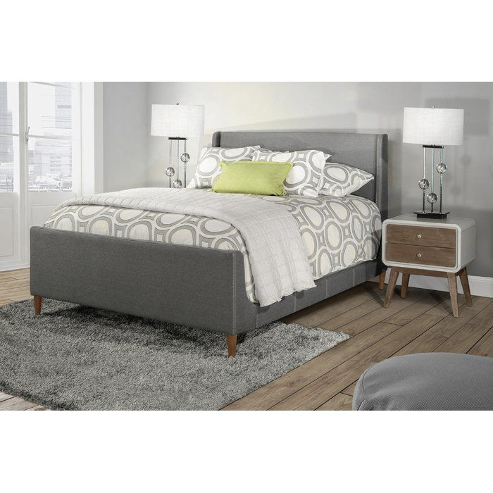 Best Berta Industrial Queen Standard Bed Hillsdale Furniture 400 x 300