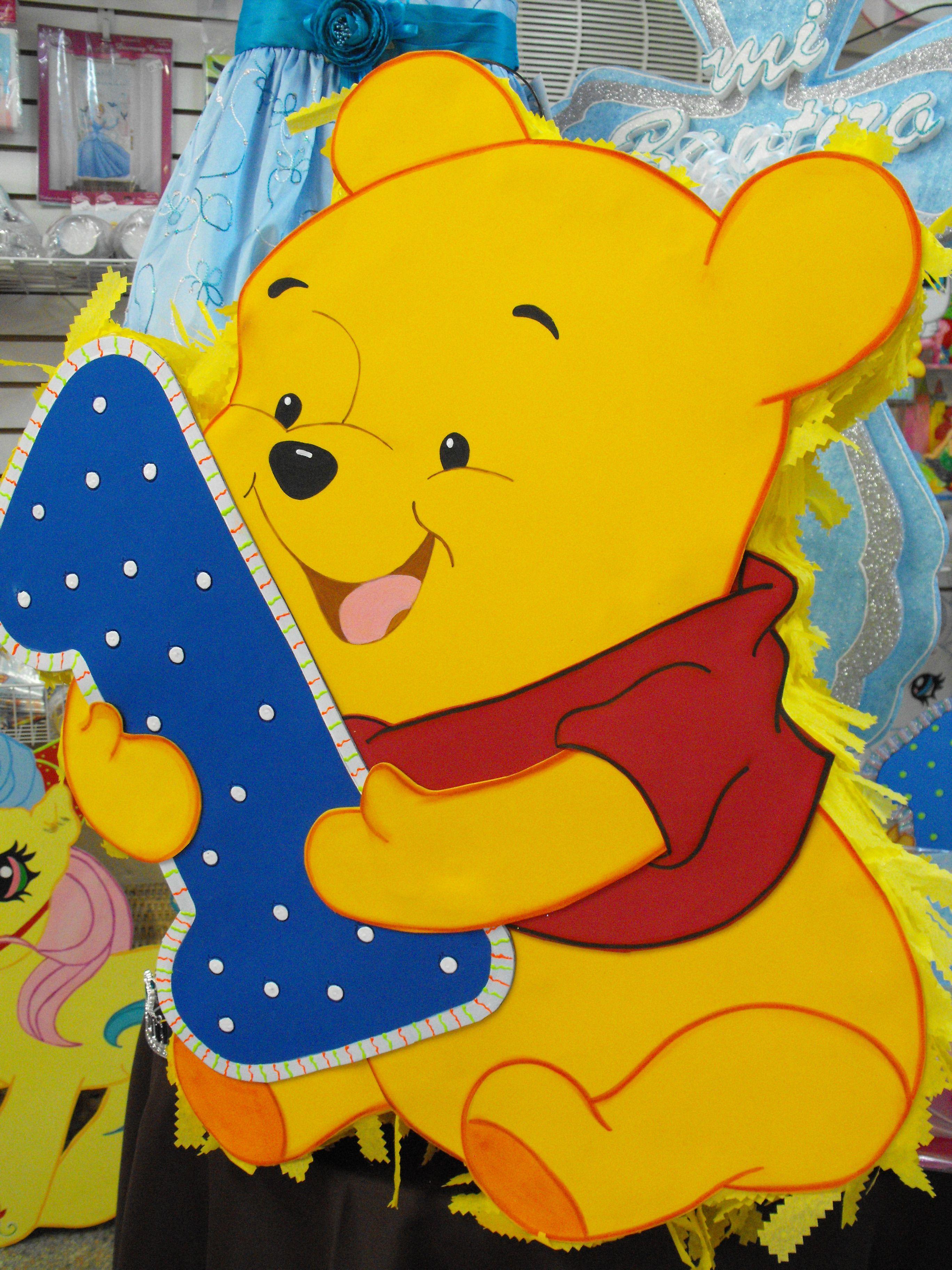 winnie pooh cumpleaños piñata - Buscar con Google